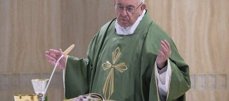 Papa Francisco: Si tienes enemigos que te intentan destruir ¡ámalos!