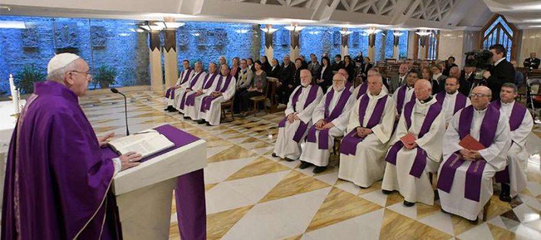 """El Papa advierte contra el cansancio: """"Es el campo perfecto para la siembra del diablo"""""""
