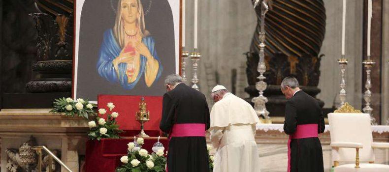 Papa Francisco invita a hacer este pedido a la Virgen para llegar al Paraíso